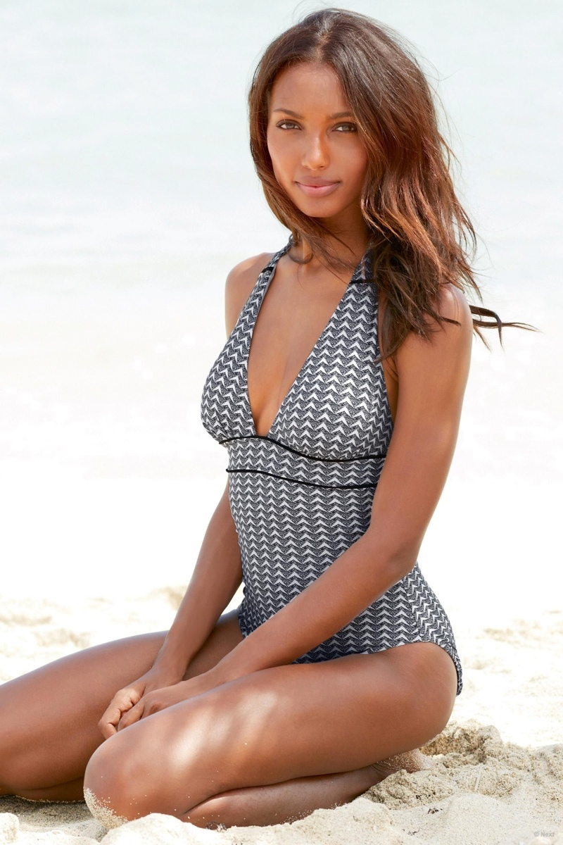 Jasmine Tookes Hits the Beach for Next Spring 2015