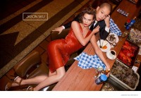 Karlie Kloss Dines in Style for Jason Wu's Spring 2015 Campaign
