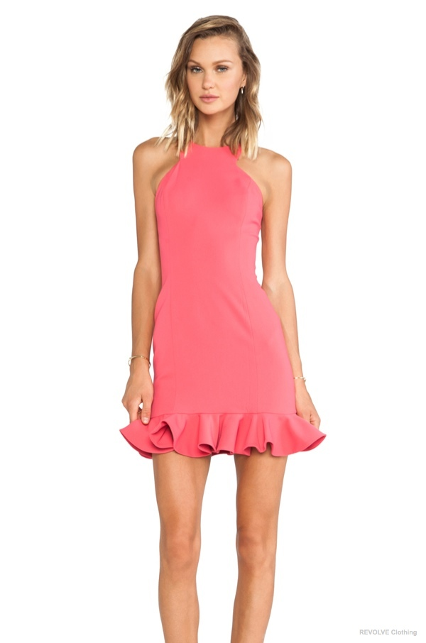 Jay Godfrey 'Abigail' Dress in Watermelon available at REVOLVE Clothing for $180.00