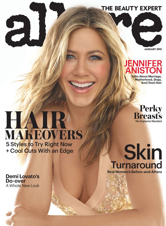 Magazine Covers 2015 Jennifer Aniston Covers Allure