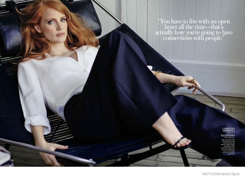 More Photos From Jessica Chastain's InStyle Shoot