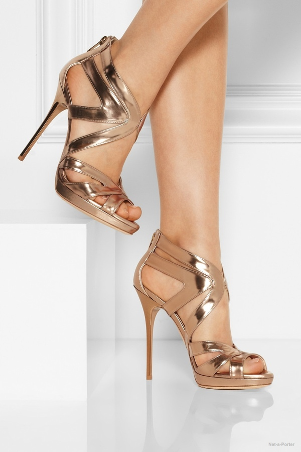 7 Metallic Sandal Heels To Party In Fashion Gone Rogue