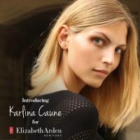 Elizabeth Arden Taps Karlina Caune as Brand Ambassador