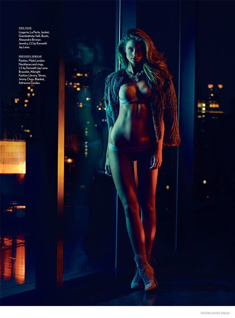 Kate Bock Goes Topless in Steamy Maxim Photo Shoot