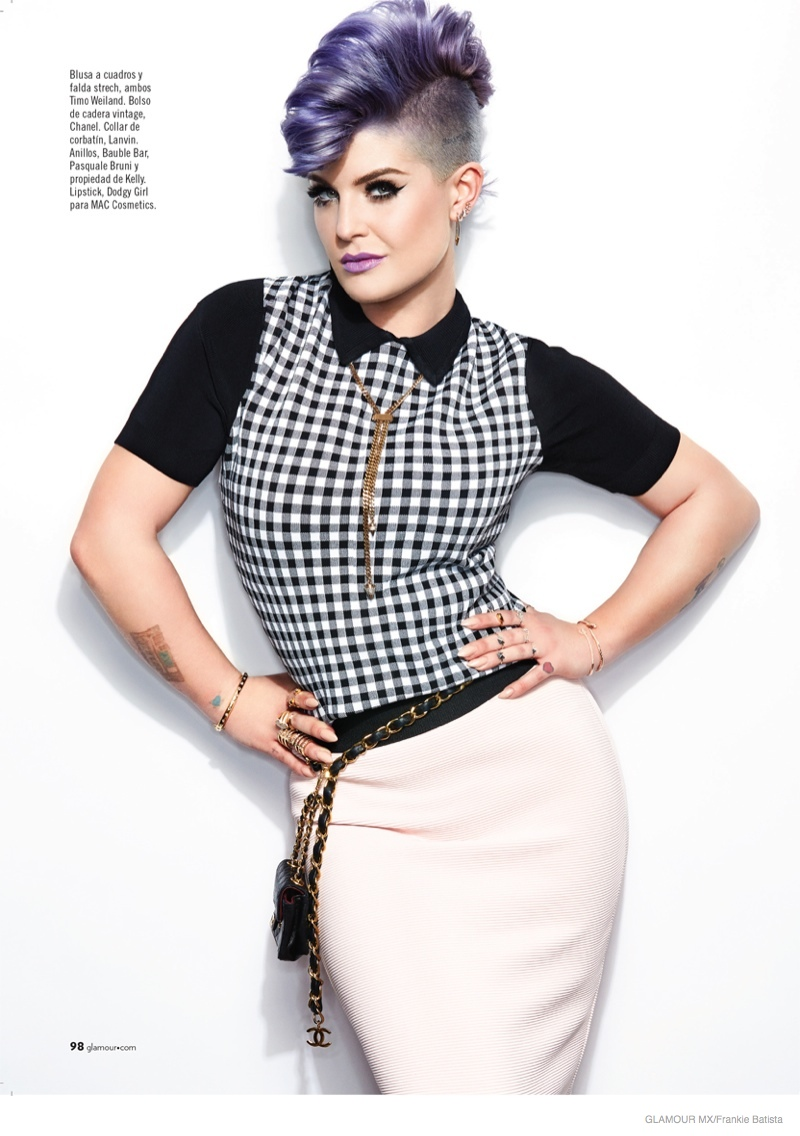 Kelly Osbourne Stars In Glamour Mexico Shoot By Frankie