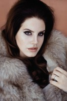 Lana Del Rey Charms for Galore Shoot by Francesco Carrozzini