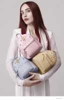 Lizzy Jagger Poses for MCM Spring 2015 Campaign