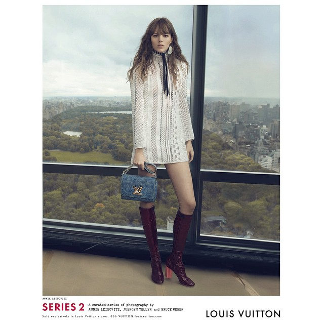 Freja Beha Erichsen by Annie Leibovitz for Louis Vuitton S/S 2015 Campaign