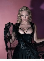 Madonna Poses in Lingerie, Goes Topless for Interview Cover Shoot