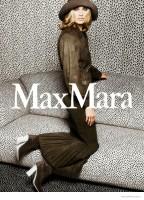 Carolyn Murphy Has Us Seeing Spots in Max Mara's Spring '15 Ads