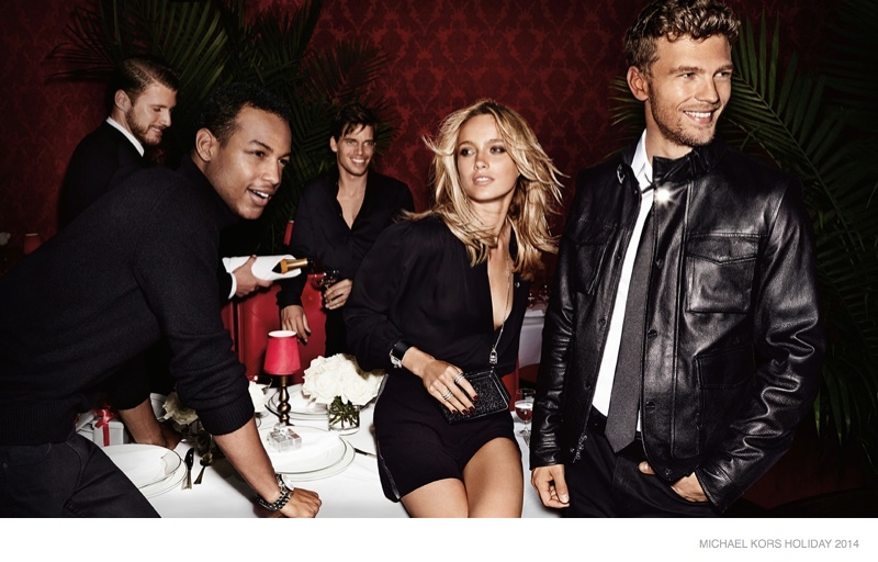 michael kors holiday 2014 ad campaign photos02 Michael Kors Gets Glam with Holiday 2014 Campaign