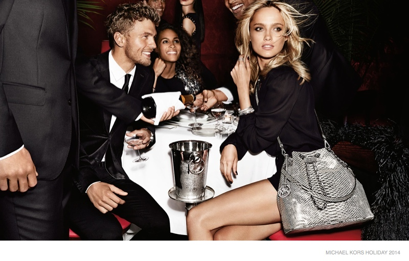 michael kors holiday 2014 ad campaign photos04 Michael Kors Gets Glam with Holiday 2014 Campaign