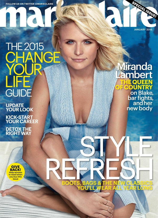 Miranda Lambert Covers Marie Claire, Talks Recent Weight Loss