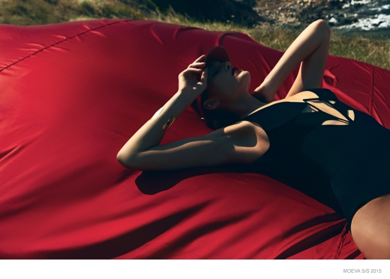 12 Sunkissed Swimsuit Looks from MOEVA's Spring 2015 Line