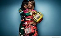 Naomi Campbell + Jourdan Dunn Star in Burberry Spring 2015 Ads