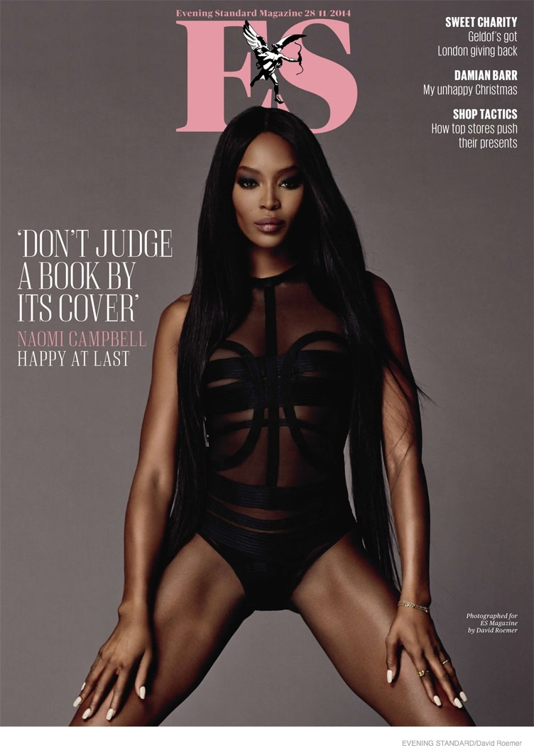 Naomi Campbell Brings the Heat in David Roemer Shoot for Evening Standard
