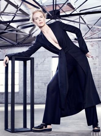 Nicole Kidman for Elle January 2015