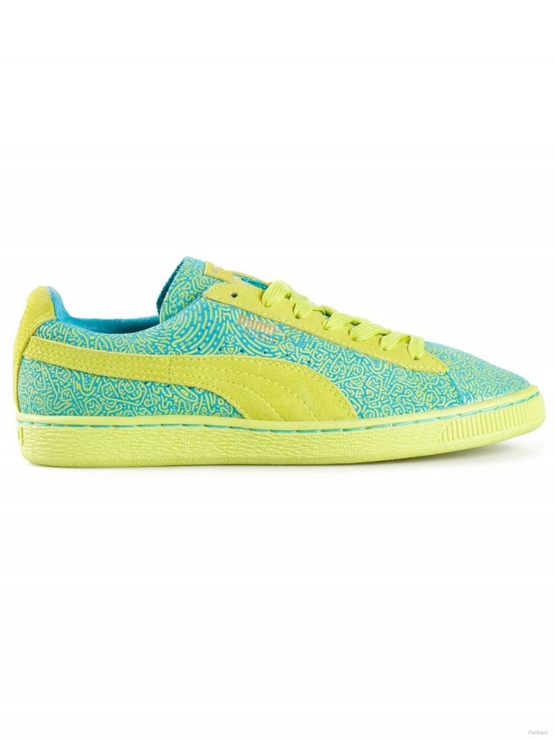 Solange x Puma 'WN's' graphic sneakers available at Farfetch for $120.00