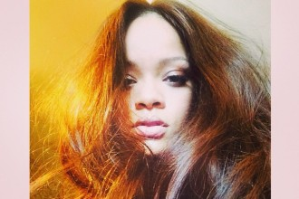 RIHANNA'S NEW LOCKS: The singer posted an Instagram shot featuring a rich brown color.