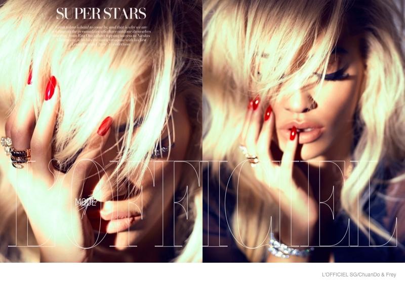 Rita Ora is Smokin' Hot in L'Officiel Singapore Shoot