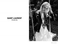 Heidi Slimane Shoots Saint Laurent Psych Rock Spring 2015 Collection