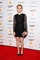 Scarlett Johansson Wears Sparkly Saint Laurent Dress at 2014 Gotham Independent Film Awards