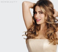 Sofia Vergara Covers NewBeauty, Says She Doesn't Want to Age