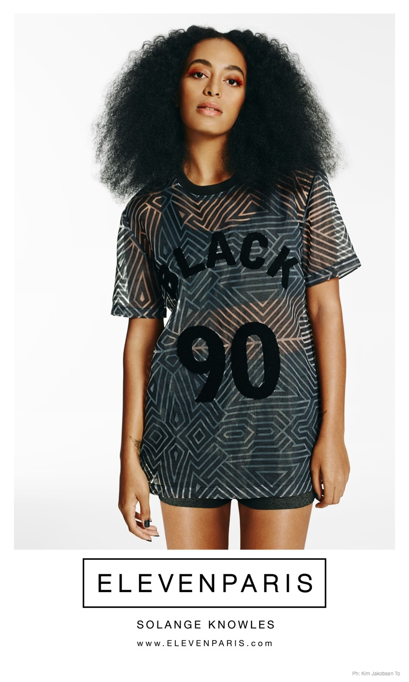 Solange Knowles Works It for ElevenParis' Spring 2015 Ads
