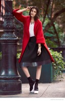 Kaylin Roger Takes it to the Streets for Cosmopolitan Mexico by Vladimir Marti