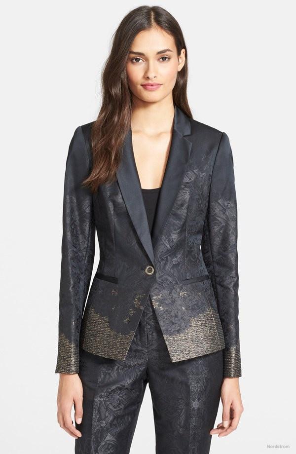Ted Baker London 'Yera' Jacquard Suit Jacket