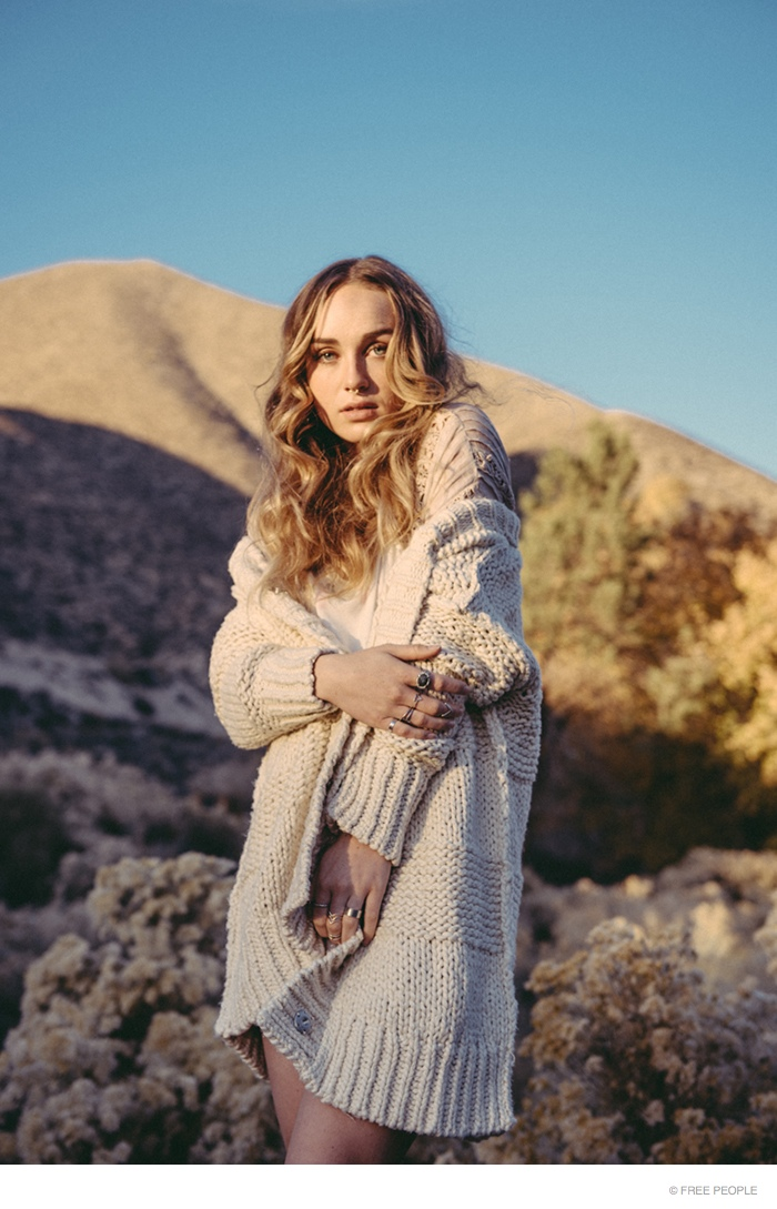 Singer Zella Day Poses in Latest Free People Lookbook