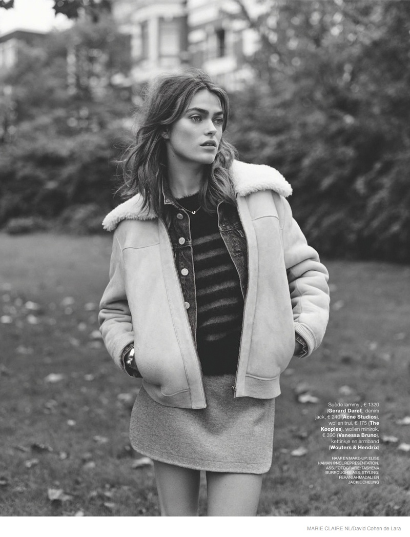 Sophie Vlaming Wears 1970s Style In Marie Claire