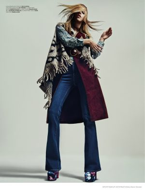 70s Trends: Eilika Meckbach by Kevin Sinclair for Sportswear International