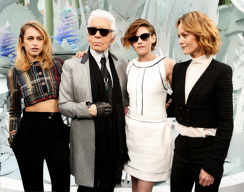Kristen Stewart, Vanessa Paradis + Alice Dellai Set for Chanel Handbag Ads