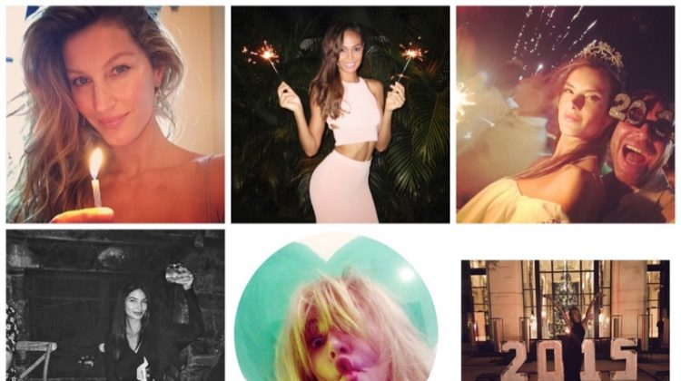 Instagram Photos of the Week | New Year's Edition with Joan Smalls, Lily Aldridge + More!