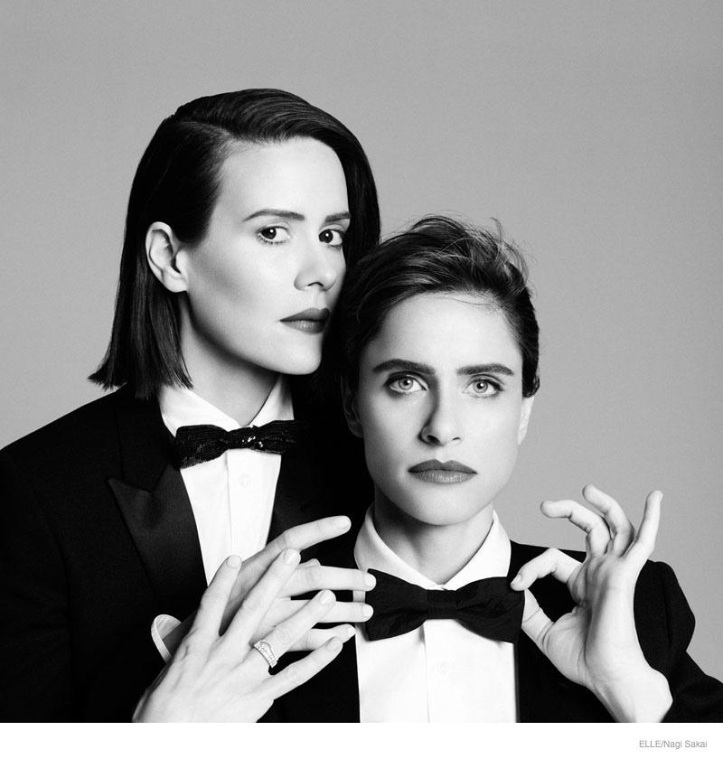 Sarah Paulson & Amanda Peet