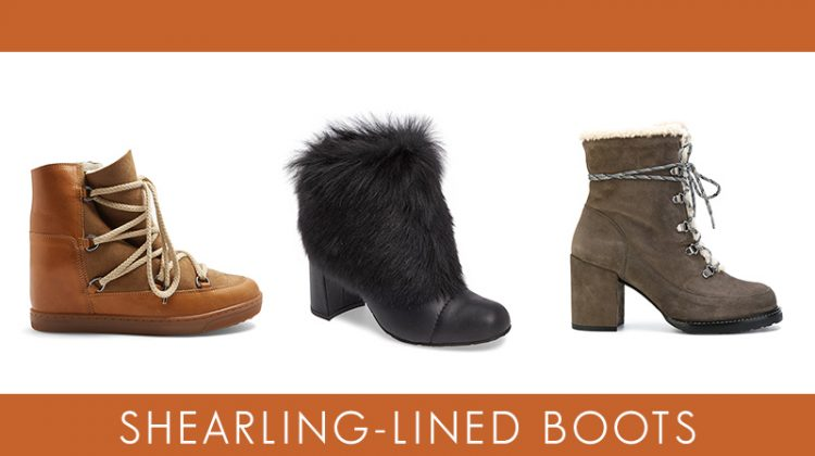 Shearling-lined boots that are amazing