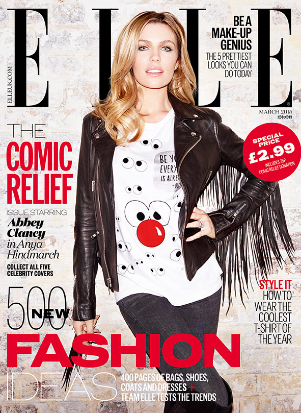 abbey-clancy-elle-red-nose-day-cover-2015