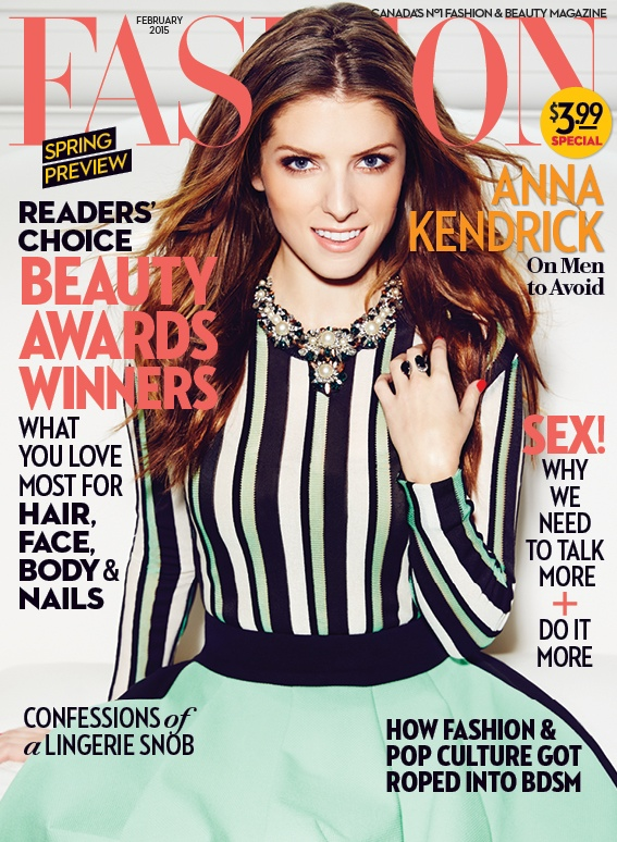 "Anna Kendrick Covers FASHION Magazine, Talks ""Into the Woods"""