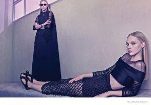 Sasha Pivovarova Takes Over Balenciaga's Spring 2015 Ads