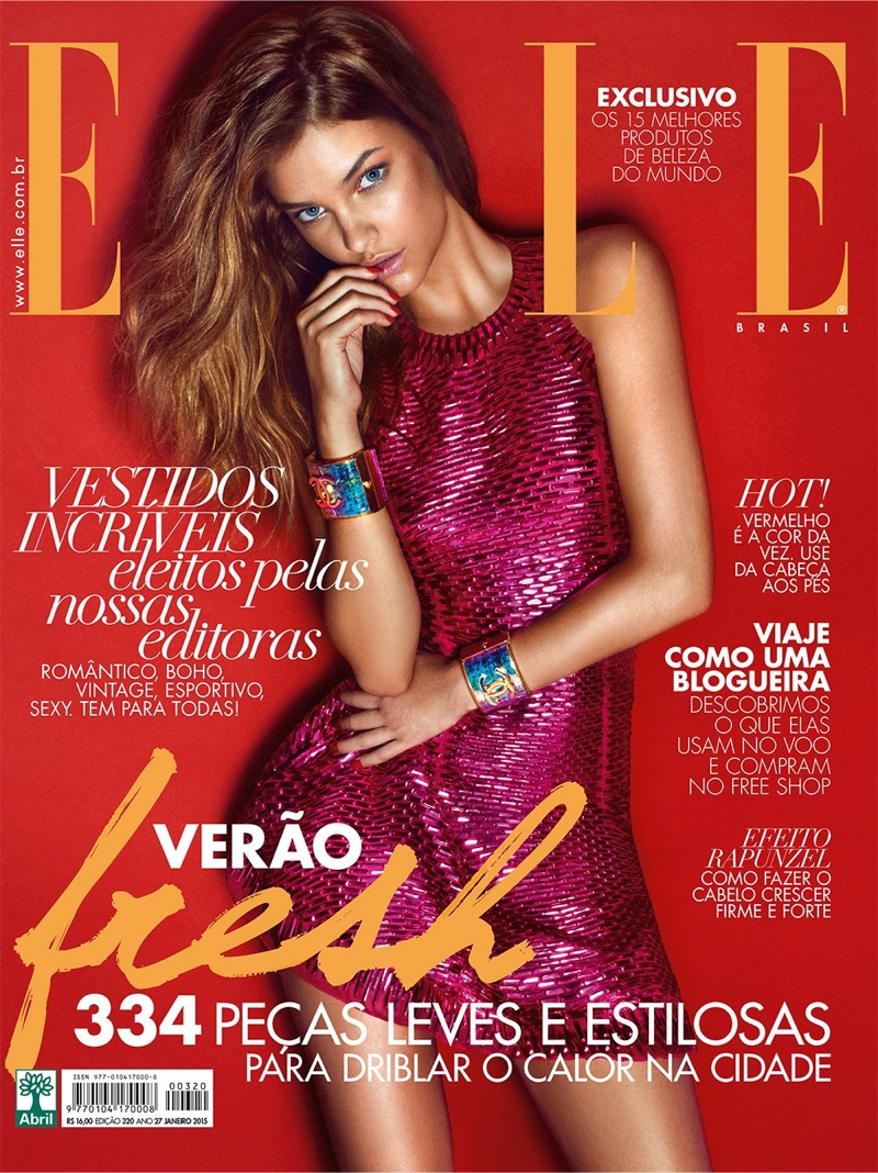 Barbara Palvin Shines on Elle Brazil January 2015 Cover