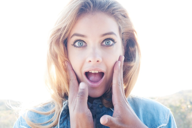 Barbara Palvin by Terry Richardson
