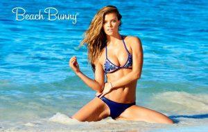 Nina Agdal, Hailey Clauson Front Beach Bunny Swimwear Spring 2015 Campaign