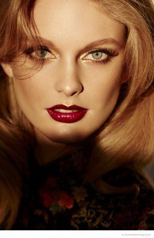 Particia Van Der Vliet Poses for Diego Uchitel in El Pais Semanal Beauty Story