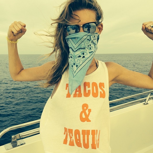 Behati Prinsloo is all about Tacos and Tequila