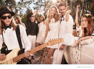 Behati Prinsloo Says I Do for Tommy Hilfiger Spring '15 Ads