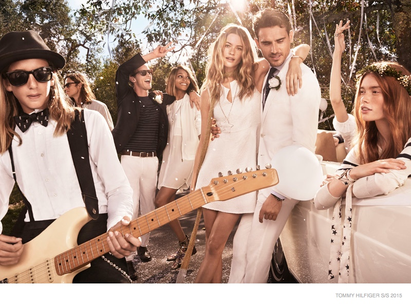 Behati Prinsloo Says I Do for Tommy Hilfiger Spring '15 Ads