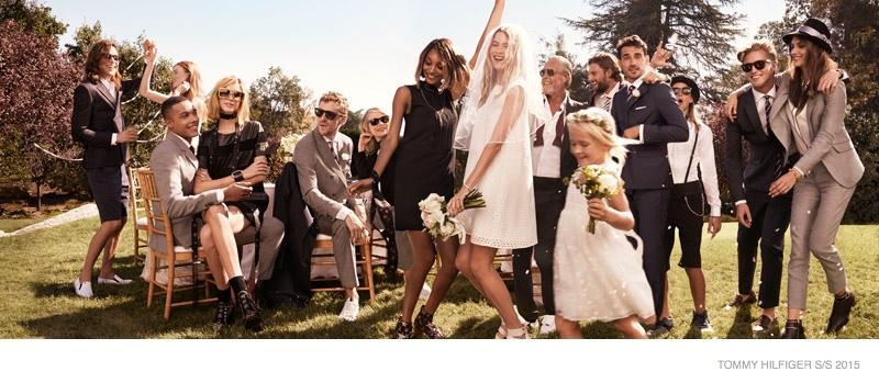 Behati prinsloo says i do for tommy hilfiger spring 15 ads behati prinsloo tommy hilfiger bridal spring 2015 04 junglespirit Image collections