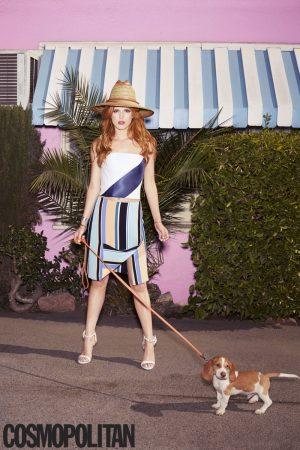 Bella Thorne Stars in Cosmopolitan, Talks Haters + Pressure to Be Perfect