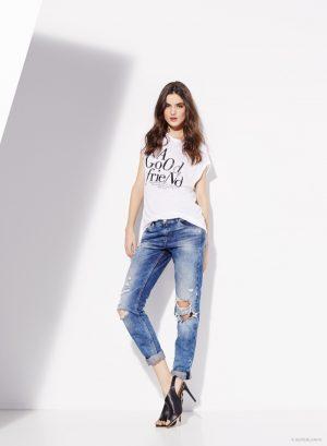 Blanca Padilla Fronts SuiteBlanco Jeans & Denim Spring 2015 Campaign